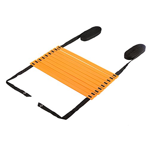 Agility Ladder, OUTAD 23ft Original Quick Ladder, Flat Rung Agility and Acceleration Training, Develop Explosive Power, Speed, Improve Coordination, Strength and Physical Dexterity