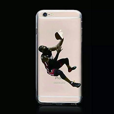iPhone 6S funda, iPhone 6 Case, TPU suave iPhone baloncesto para ...