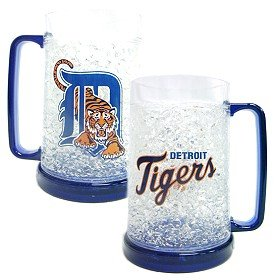 Detroit Tigers Crystal Freezer Mug]()