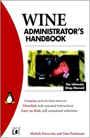 Book Wine Administrator's Bible (MandT Books)