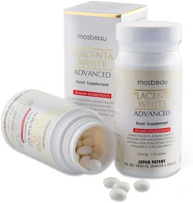 Mosbeau Placenta White Advanced Skin Whitening Tablets