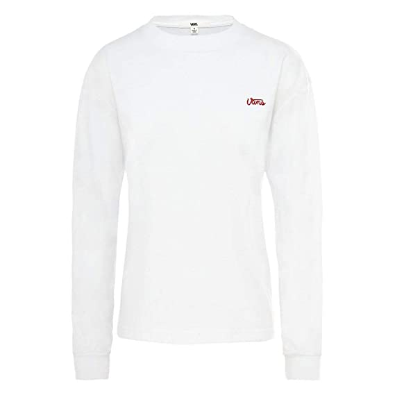 e414f16c1037ab Vans Lorraine Womens Long Sleeve T-Shirt  Amazon.co.uk  Clothing