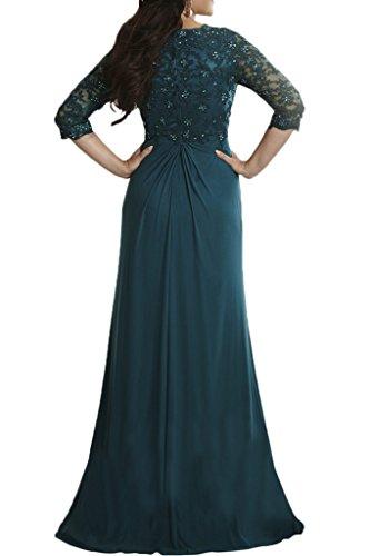 Festlich Ballkleider 2018 Promkleider Tanzenkleider La Langarm Abendkleider Spitze Neu Braut mia Abschlussballkleider Lila 8wwEIf
