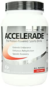 Accelerade, Fruit Punch, Net Wt. 4.11 lb, 60 serving