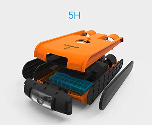 Underwater Drone,Smart Robot Fish Explorer Camera Drone Diving Boating Adults Toys Swimming Kids Waterproof Surf Streaming Orange SKYJIE
