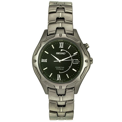 Seiko Men's SKH681 Titanium Kinetic Watch