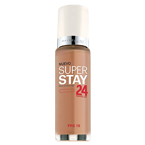 Maybelline New York Super Stay 24Hr Makeup, Honey Beige, 1 Fluid Ounce