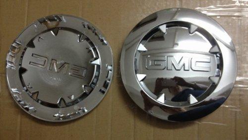 - 2 NEW 2007 - 2011 GMC SIERRA 1500 YUKON XL DENALI Chrome Center Cap 9596381 20