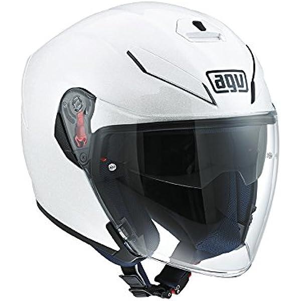 Amazon Com Agv K 5 Jet Helmet White Ml Sports Outdoors