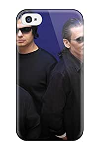 Hot Tpu Cover Case For Iphone/ 4/4s Case Cover Skin - Blue Oyster Cult Music People Music