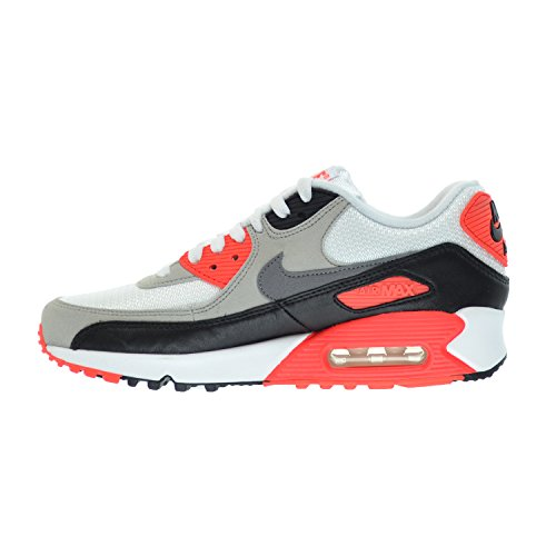 Nike Womens Air Max 90 OG Fabric Sneakers White/Cool Grey-natural Grey-black 0QcsyrOH