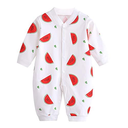 JinBei Baby Meisjes Rompers Pasgeboren Pyjama Jumpsuit Hansop Overall Cartoon Outfits Voorkant Knoppen Lange Mouw Herfst…