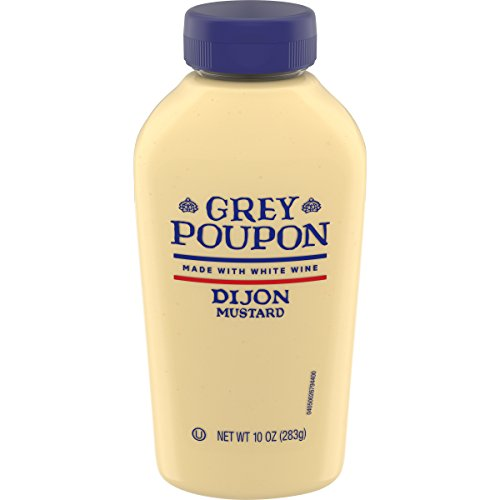 Grey Poupon Dijon Mustard (10 oz Bottle)