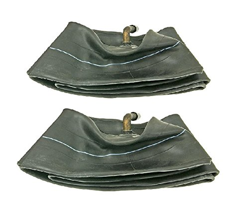 Pair of Trans American 4.10/3.50-4 Inner Tubes with TR87 Bent Metal Valve (4 Bent Valve)