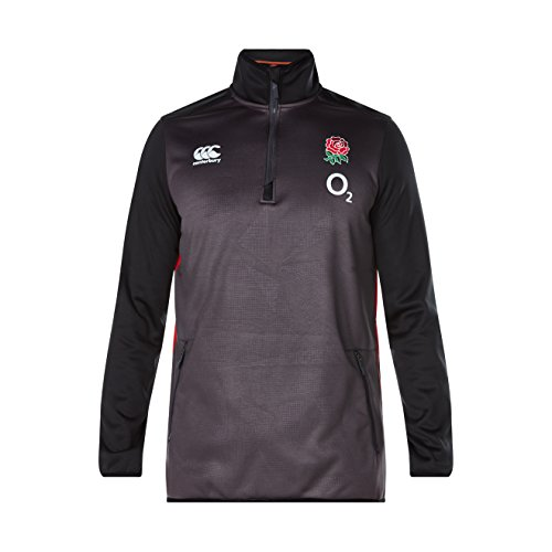 Canterbury Men's England 2017/18 Players 1/4 Zip Rugby Training Top