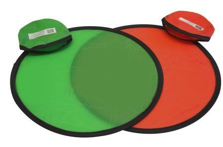 Folding Pocket Frisbee Flyer with Pouch (Pack of 6)