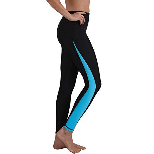 Ladies Swim Jammer Leggings Blue - Swim Are Shorts What Jammer