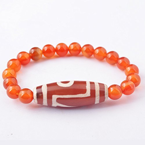 NEW One Eye DZI Agate Bead Stretch