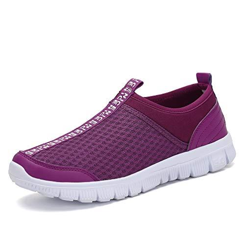 De Gym Lger Course Hommes A Jindeng Sport On Chaussures Baskets Violet Pied Casual Slip Trainers XyBwxqRI8q