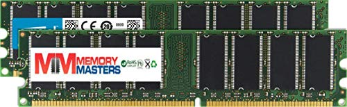 - MemoryMasters 1GB (2 X 512MB) SDRAM Memory RAM PC133 168-pin DIMM for Desktop PC Computer