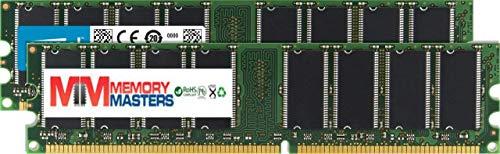 MemoryMasters 1GB (2 X 512MB) SDRAM Memory RAM PC133 168-pin DIMM for Desktop PC Computer ()