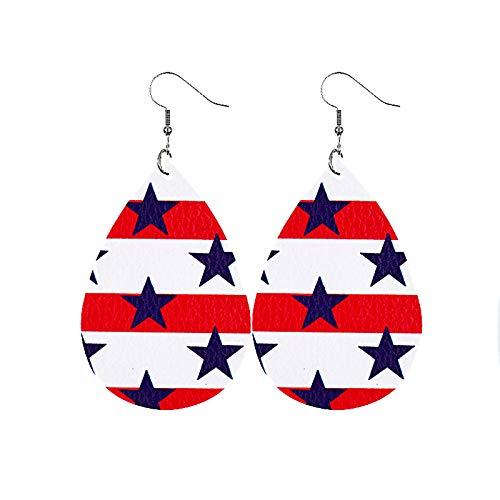 National Flag Series Earrings,Colorful Stud Earrings for Women Girls(National Flag H)