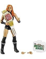 WWE Becky Lynch Elite Collection actionfigur, 6 in/15,24 cm möjlig samlargåva för WWE fans åldrarna 8 år och uppåt