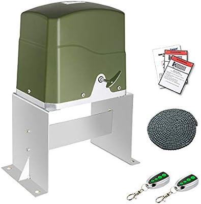 topens CK700 automático Cadena abridor de puerta corredera con 2 mandos a distancia (4) para Slide puerta hasta 1600 kg y 40 m puerta operador: Amazon.es: Bricolaje y herramientas