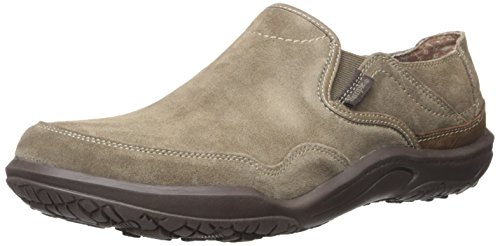 Simple Men's Centric-L Fashion Sneaker, Smoke Suede, 10 M (Simple Suede Sneakers)