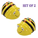 TTS Bee-bot Educational Robot Helps to Teach Algorithms | Improve Directional Language and Programming Skills | Rechargeable - Pack of 2