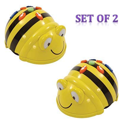 TTS Bee-bot Educational Robot Helps to Teach Algorithms | Improve Directional Language and Programming Skills | Rechargeable - Pack of 2 by TTS (Image #4)