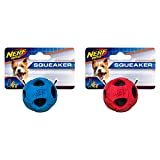 Nerf Dog X-Small Rubber Wrapped Bash Tennis Ball Red & Blue Dog Toy (2 Pack) Review