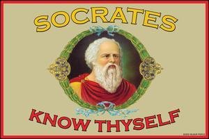 Amazon.com: Know Thyself - 12x18 Art Poster by Socrates: Prints ...