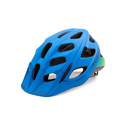 Giro Hex Matte Blue / Lime Small