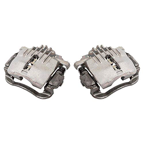 CCK02518 [ 2 ] REAR Premium Grade OE Semi-Loaded Caliper Assembly Pair Set
