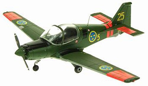 Aviation72 AV7225003 1/72 Scottish Aviation Bulldog SK61 Swedish Air Force Basic Trainer 61025 by Aviation72