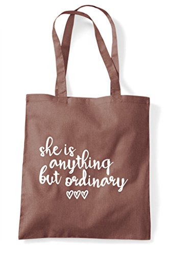 Anything Shopper Ordinary Bag She Chestnut Is Statement But Tote H5KTqCw