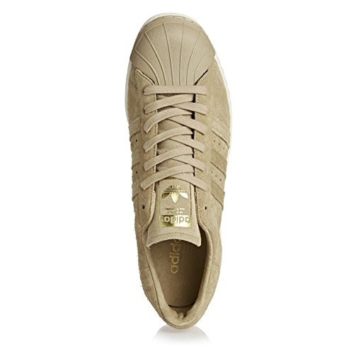 adidas Superstar 80s chaussures 8,0 khaki/gold