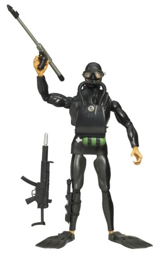 GI JOE 12 INCH MILITARY FIGURE - TORPEDO