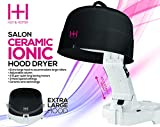 Annie Hot & Hotter Extra Large 1500 Ceramic Ionic Hood Dryer, 8...