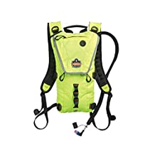 Ergodyne Chill-Its 5156 Premium Low Profile Hydration Pack, 3-Liter, Hi-Vis Lime