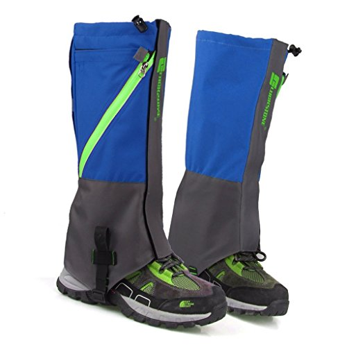 Honeysuck Outdoor impermeabile Walking hiking climbing Snow Sand Legging ghette Covers