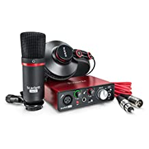 Focusrite Scarlett-Solo-Studio Gen2 USB Audio Interface and Recording Bundle with Pro Tools First