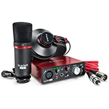 Focusrite Scarlett Solo Studio (2nd Gen) USB Audio Interface and Recording Bundle with Pro Tools | First