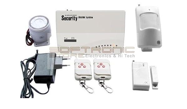 Softronic - Kit completo de alarma inalámbrica antirrobo con ...