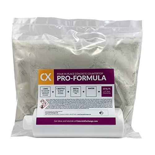 CX Pour-in-Place Concrete Countertop Pro-Formula Mix