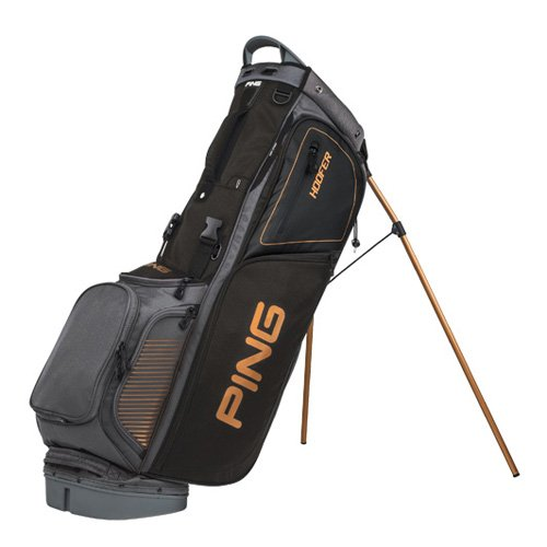 PING 2017 Hoofer Carry Stand Bag Charcoal/Black/Copper