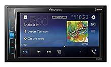 """Pioneer MVH-A200VBT - Receptor multimedia para pantalla táctil de coche, negro, 6.2"""""""
