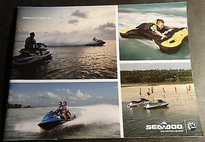 LARGE 2008 SEA DOO WATERCRAFT SALES CATALOG BROCHURE 40 PAGES (857)