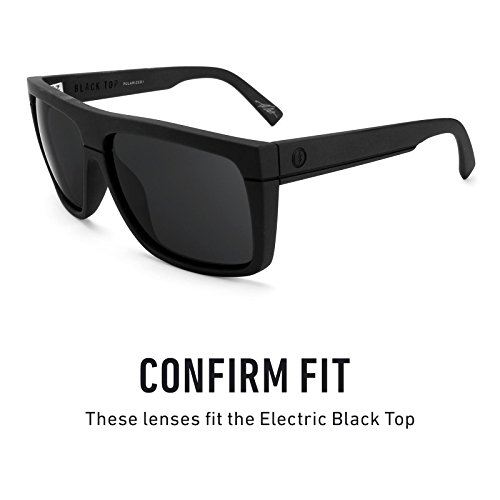 Elite repuesto de Lentes para Electric Oscuro Polarizados Top Opciones — Marrón Black múltiples BRvawx5qa
